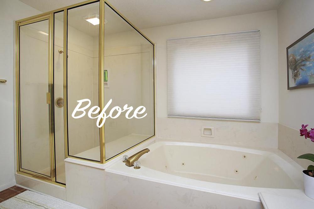 Update Cultured Marble Bathroom
