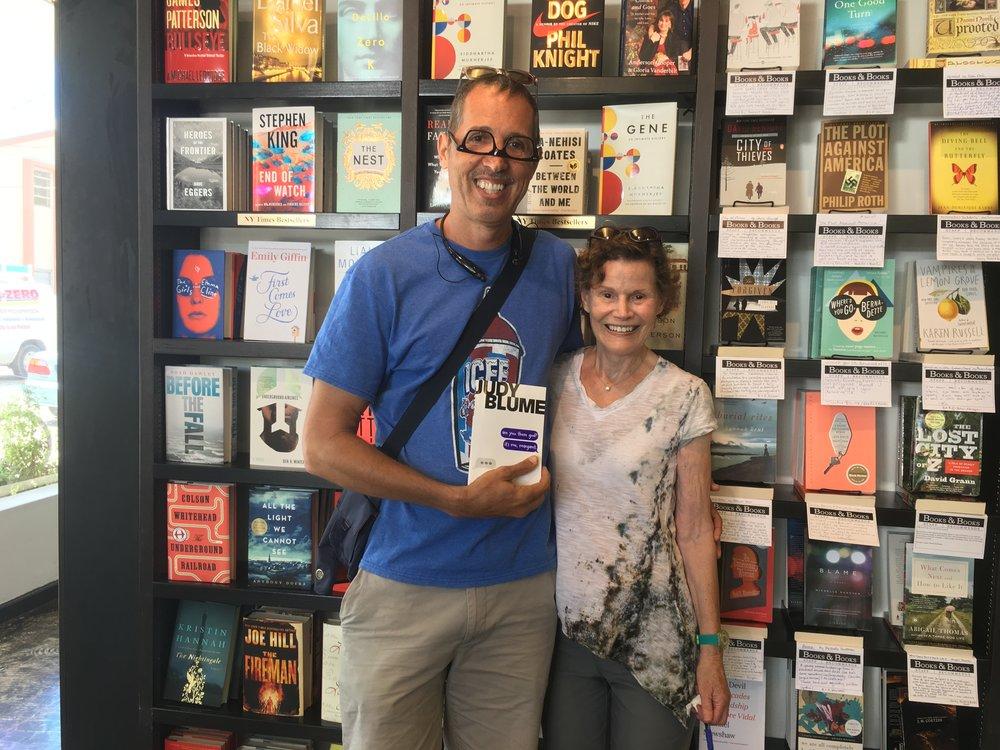 Mike Mongo & Judy Blume