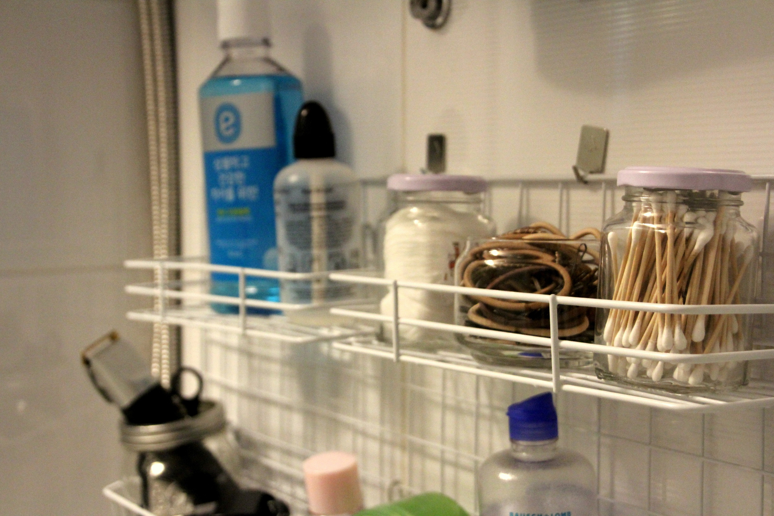 How to organize small spaces: Bathroom edition
