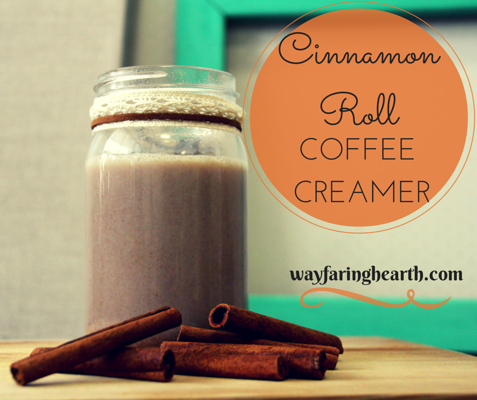 cinnamon roll coffee creamer