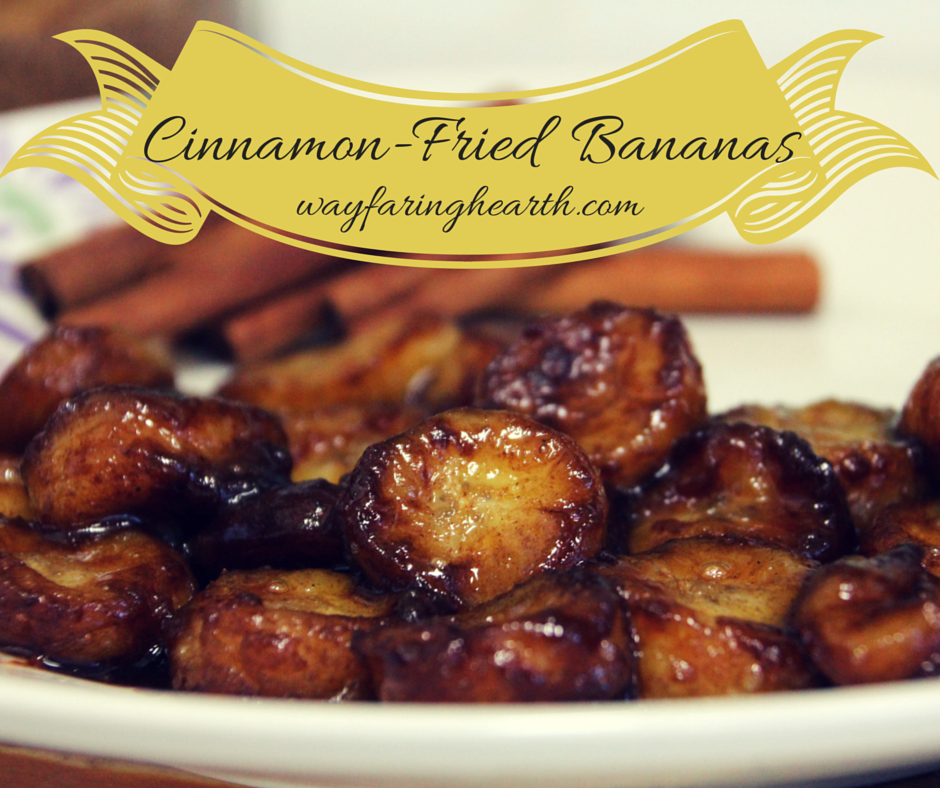 Cinnamon-Fried Bananas