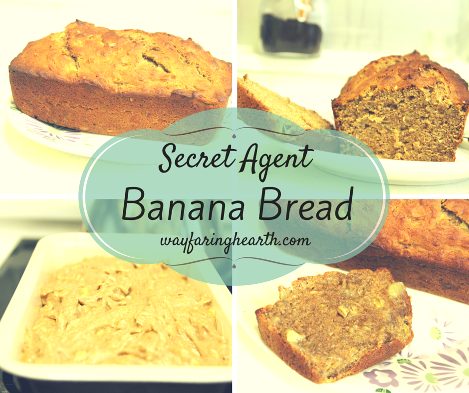 secret agent banana bread