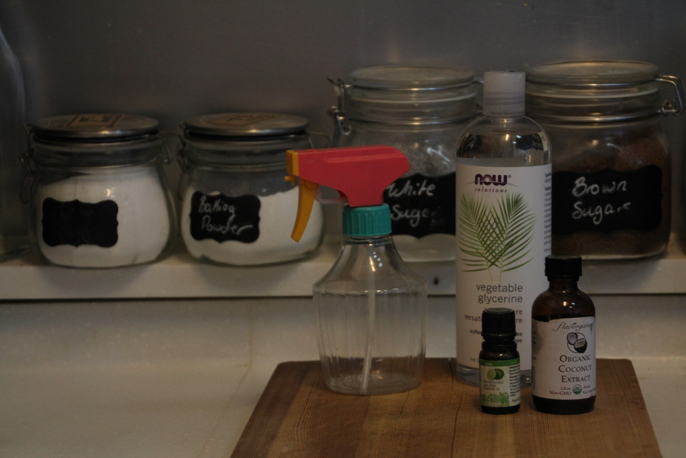 diy air freshener and furniture spray