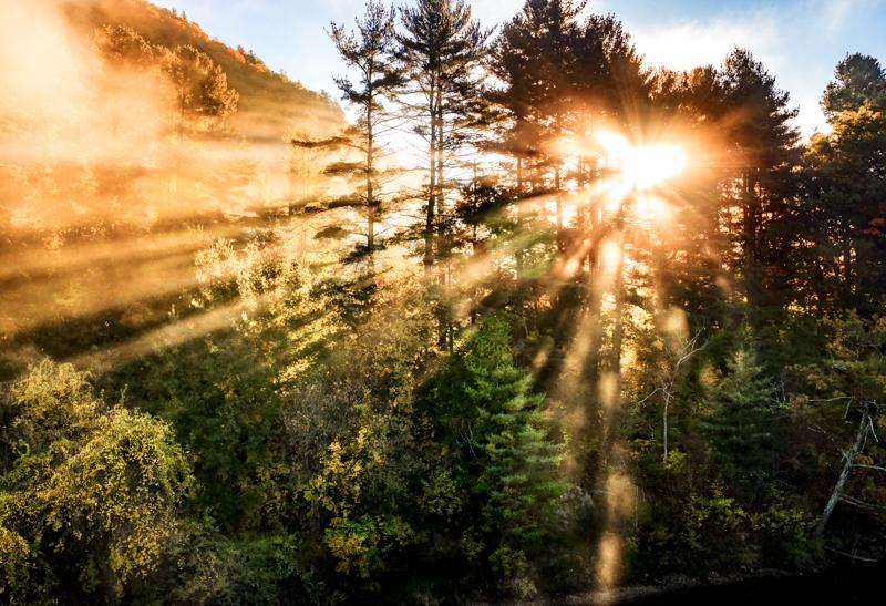 Morning Light Show