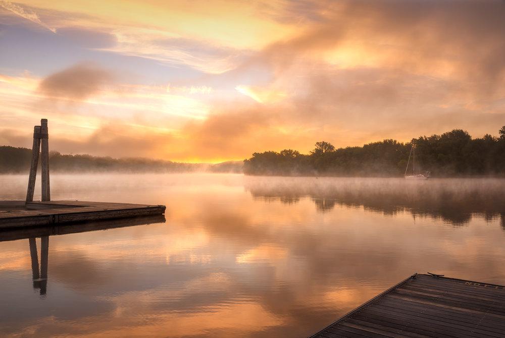 Calm River Morning