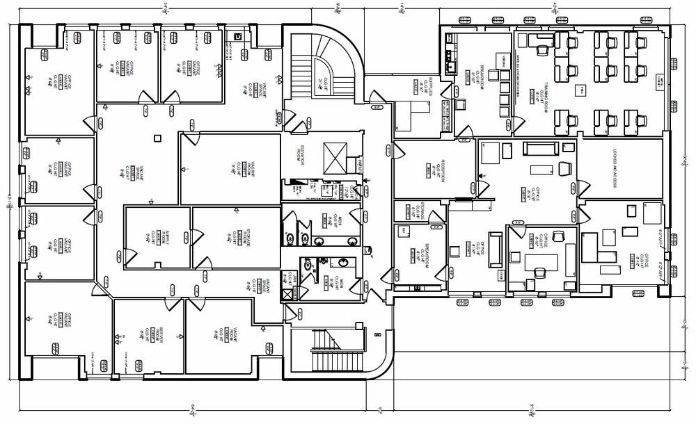 AimBank Building - second floor plan