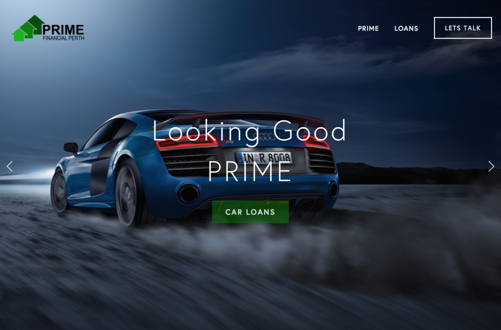 Prime Financial Perth - Good Looking Car Loans