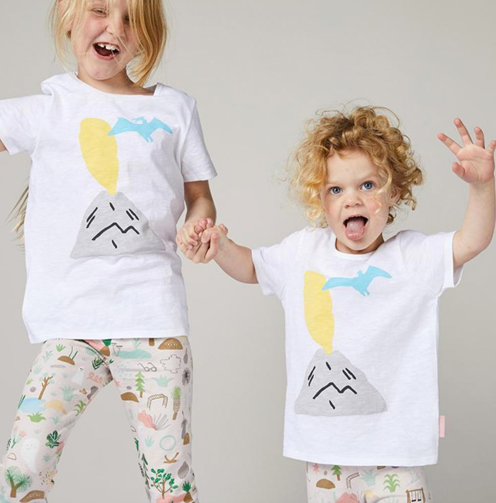 TRIASSIC PARK KIDS TEES