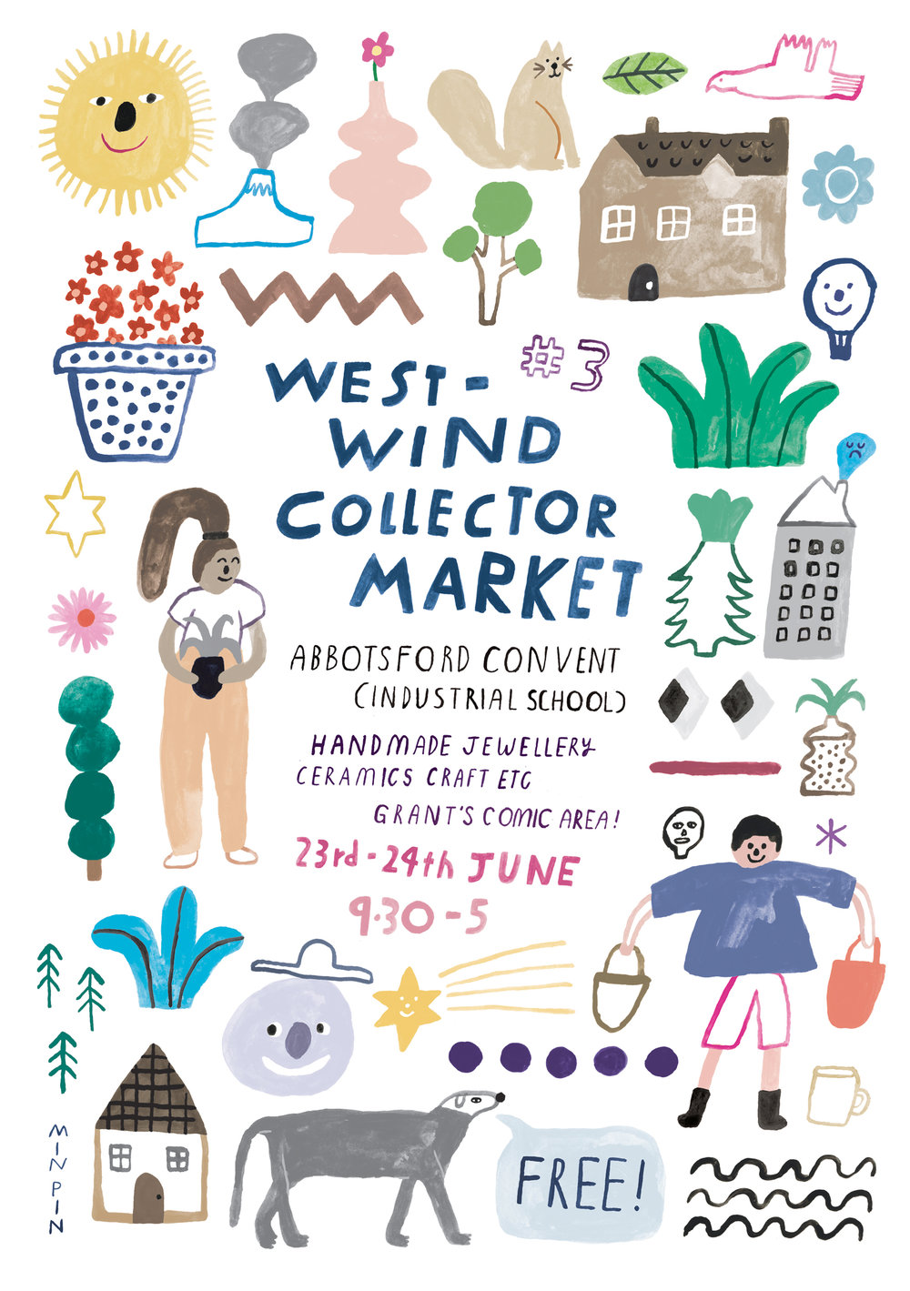 OFF TO MARKET 2018 for West Wind Collector Market