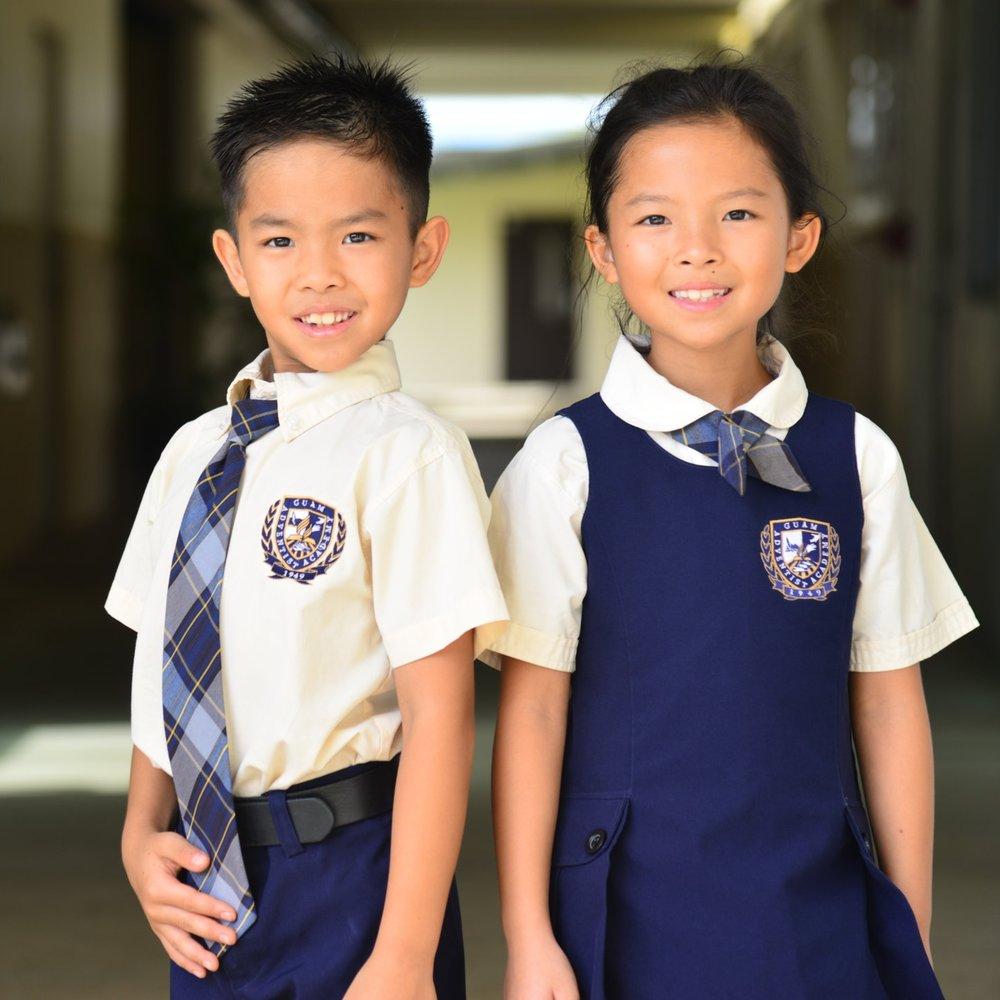 best service a92fe 7c3eb School Uniforms — Guam Adventist Academy