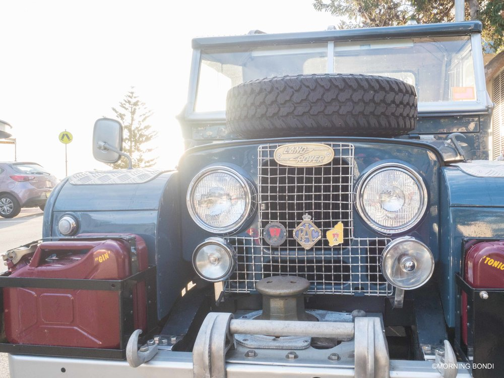 Land Rover for life (how nice is this car, if you are into vintage car follow my future brother-in-law on Instagram Le Retronaute)
