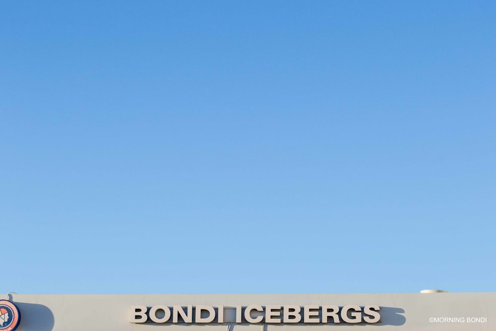 Another view of the Bondi Icebergs
