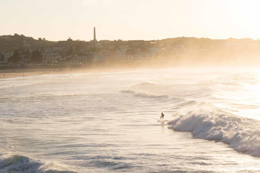 Surfing the white wash
