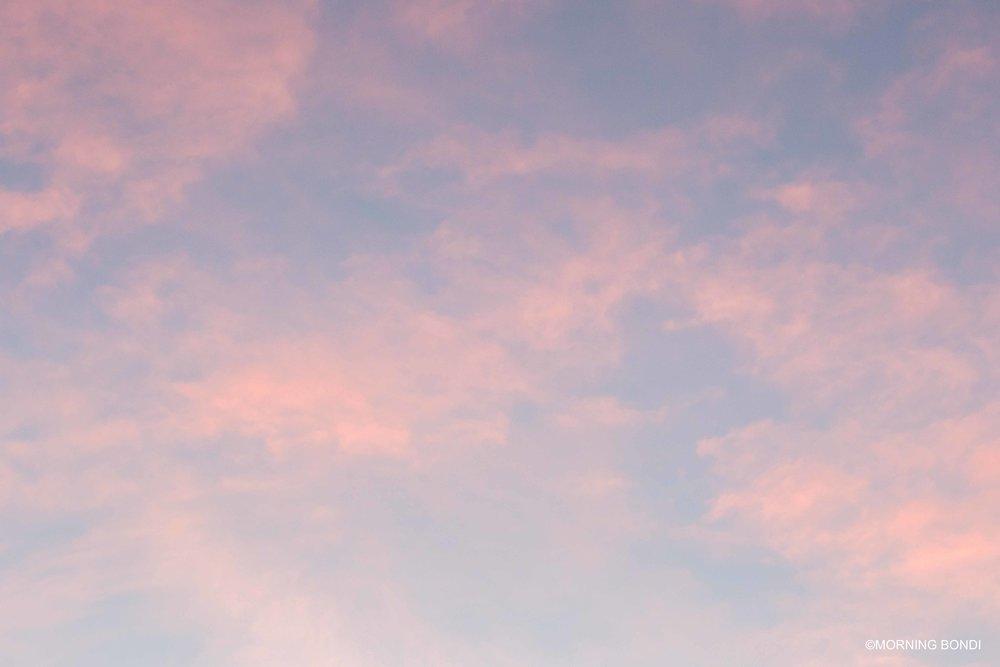 Patchy sky