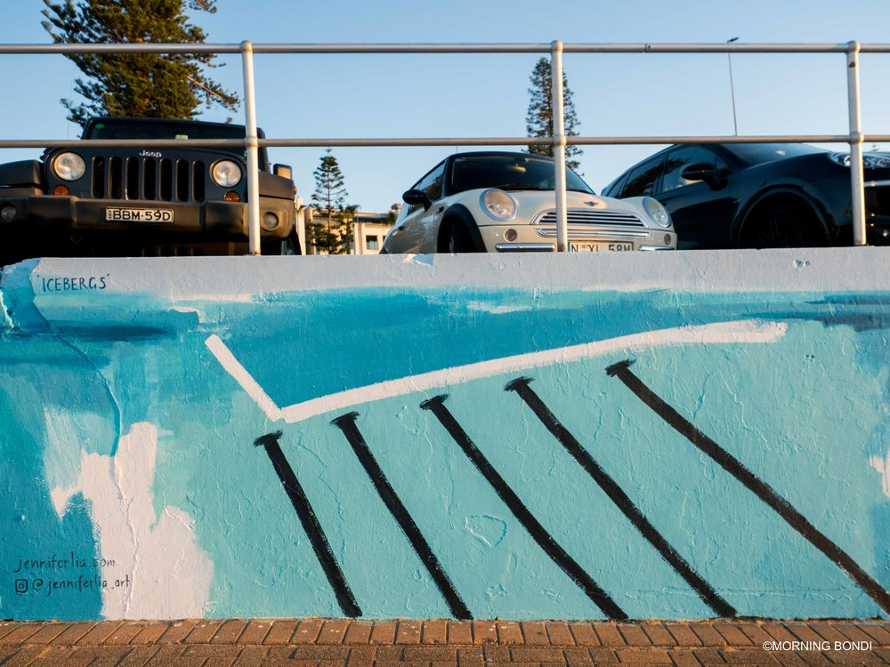 Icebergs by  Jenniferlia