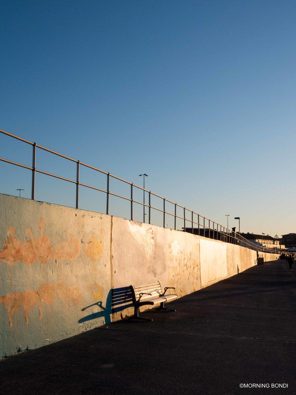 The iconic graffiti wall
