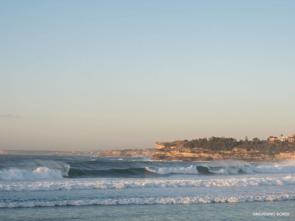 A few good waves from there