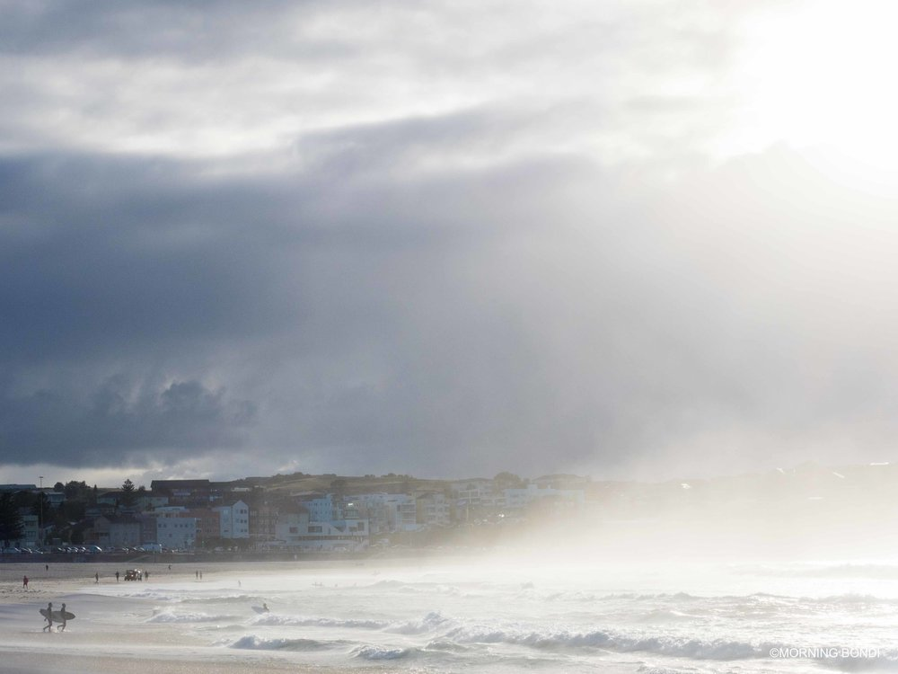 Back in Bondi and misty AF too! (Oops excuse my French!)