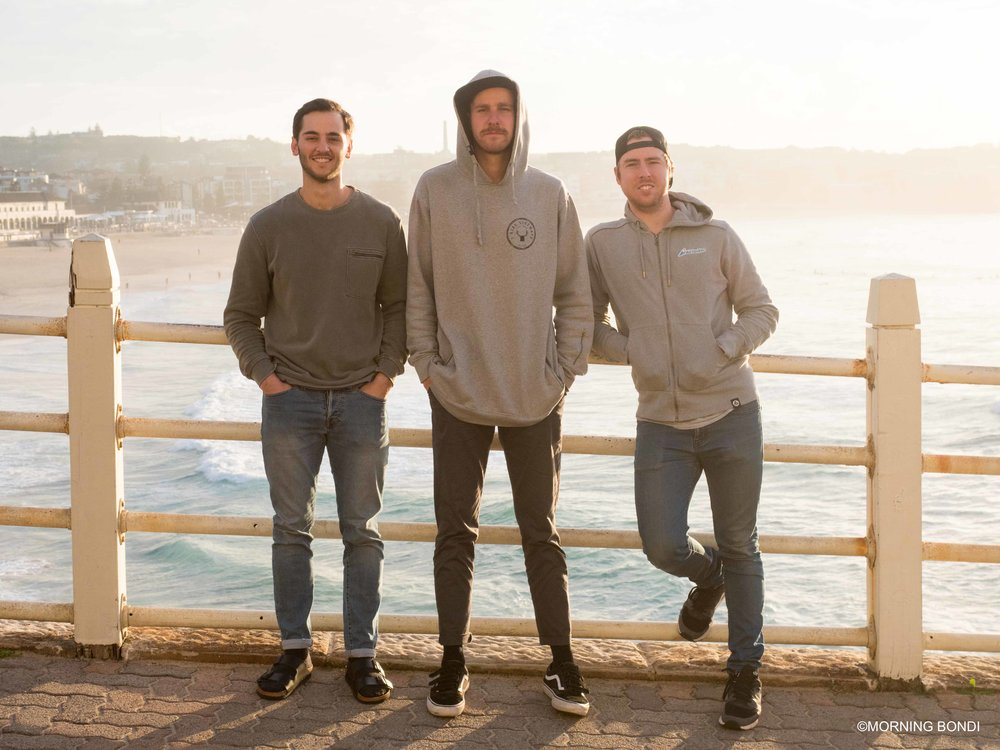 Samuel, Nathan and Jonnie - Good blokes!