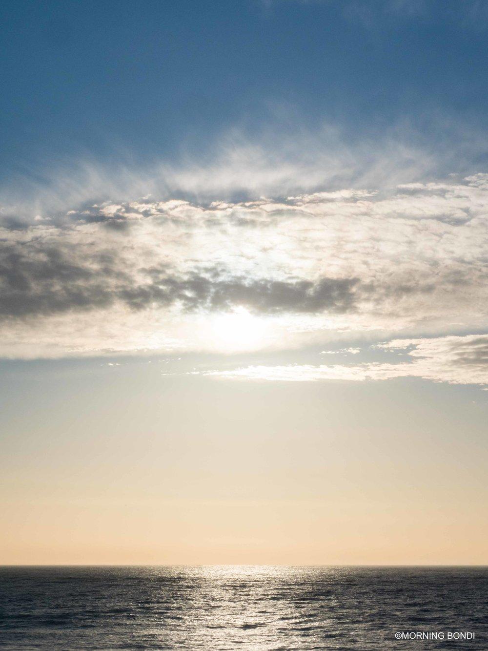 Interesting sky & light