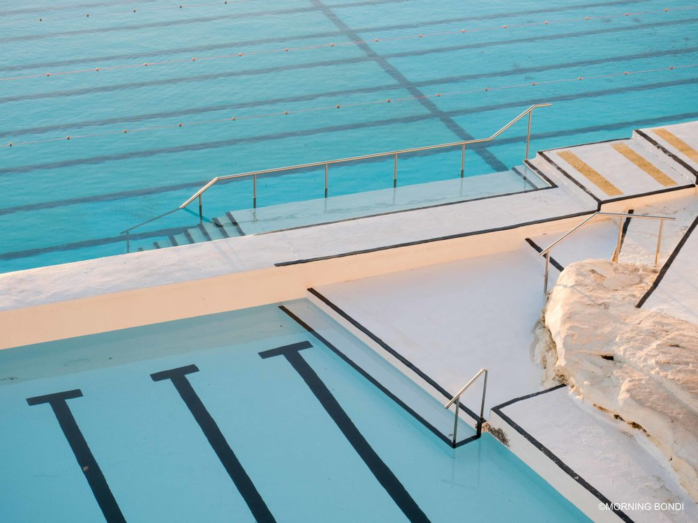Fresh paint, cool light, beautiful pool!
