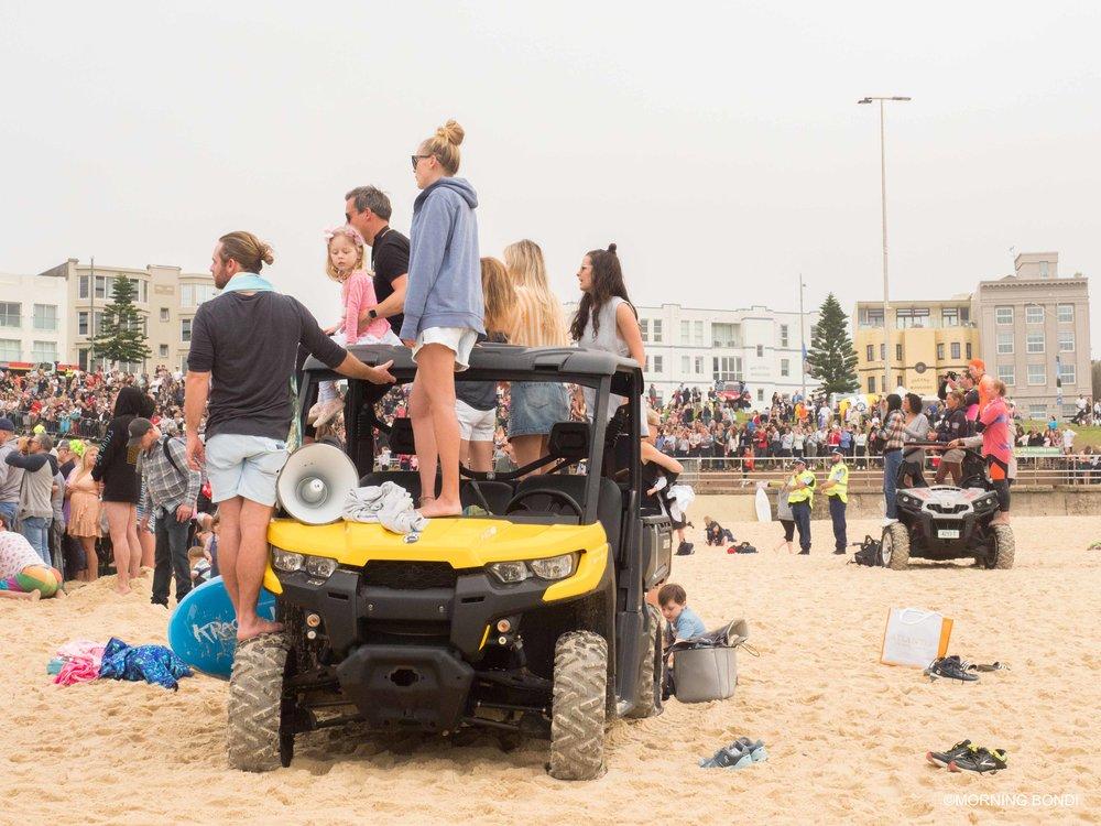 Bondi Lifeguards buggy