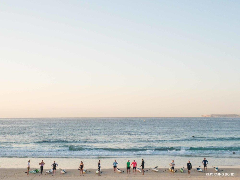 Ski training for the Surf Lifesaving Club