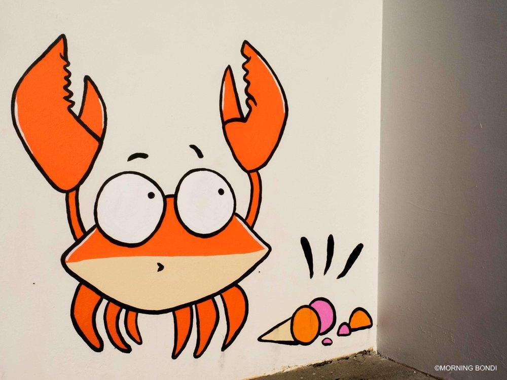 Havaianas crab