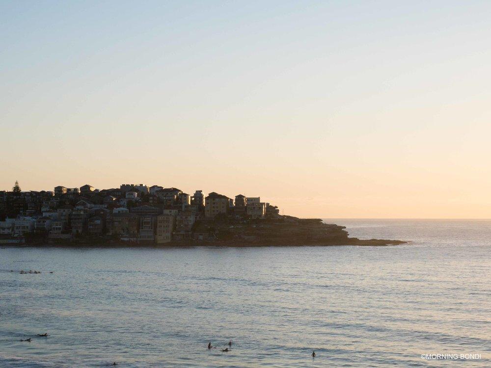 North Bondi at sunrise