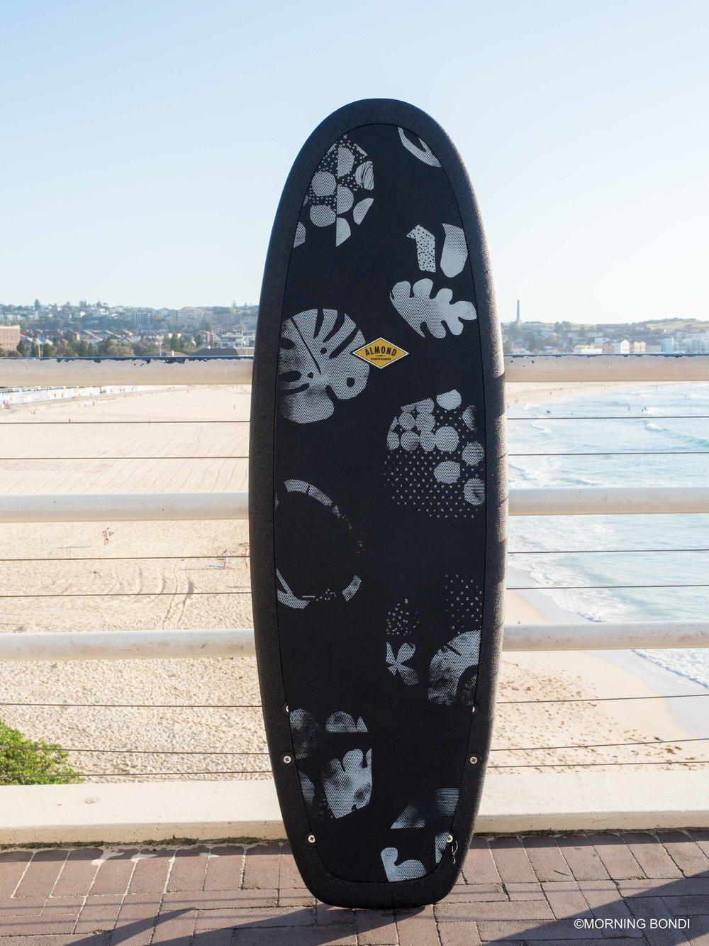 Keiron Lewis x Almond Surfboards