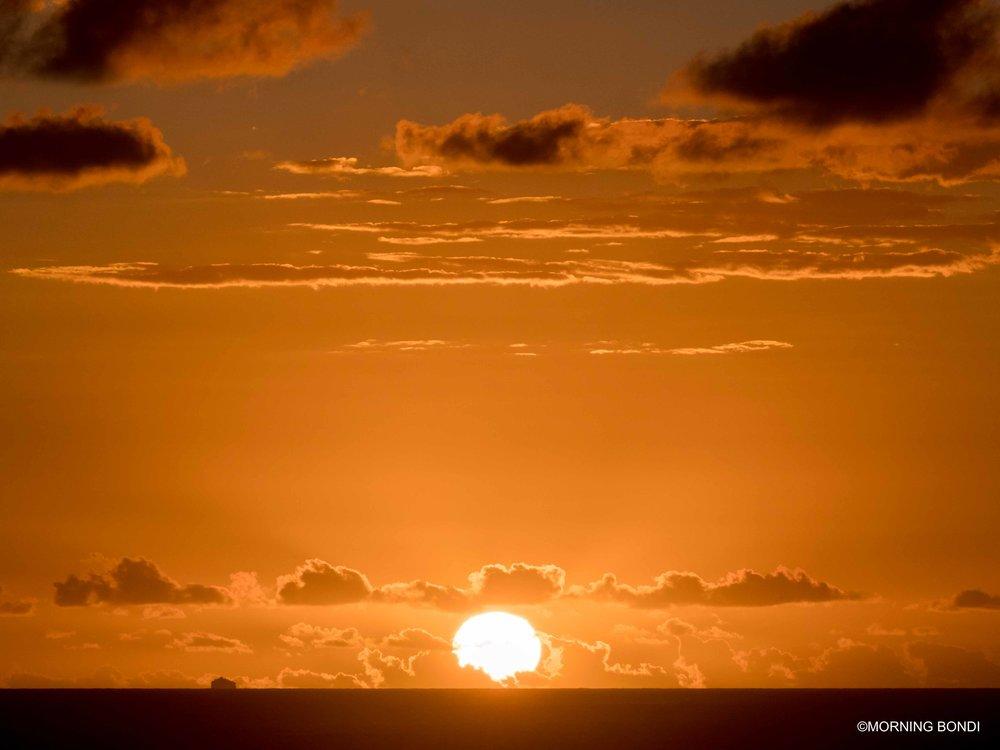 Sun-sational morning down in Bondi Beach!