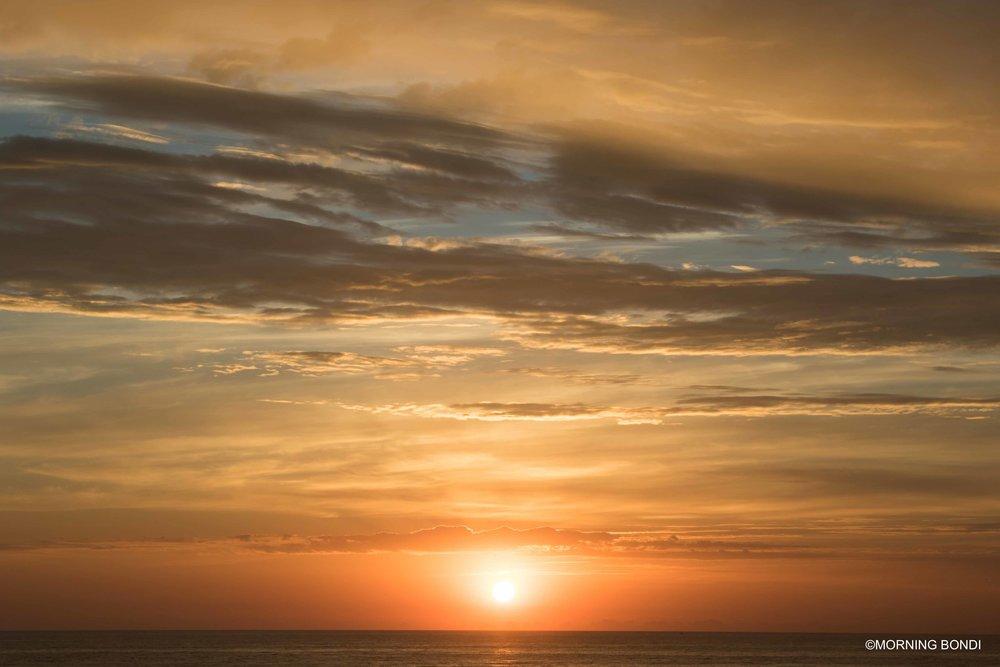 Sunrise of 1st December 2016