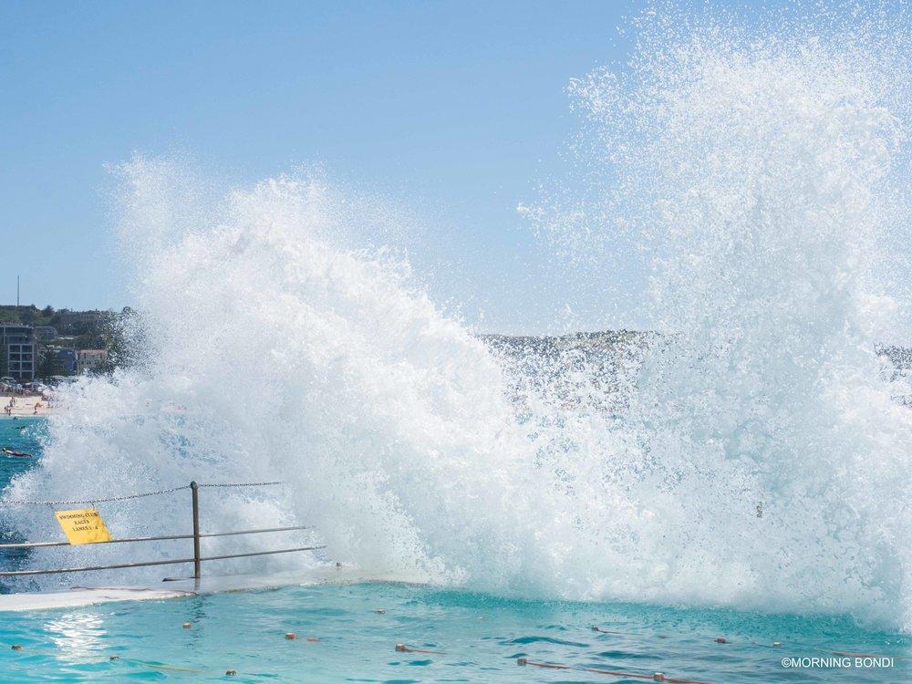 Splash at the Icebergs!