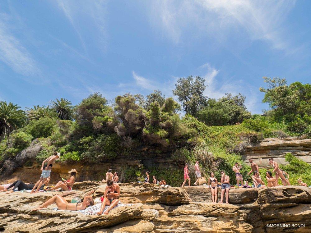 Gordons Bay beach - a few minutes from Bondi Beach
