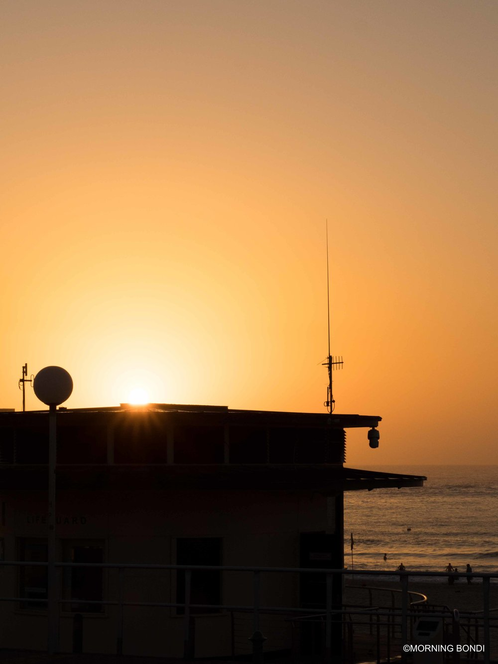 The iconic Bondi Lifeguards tower
