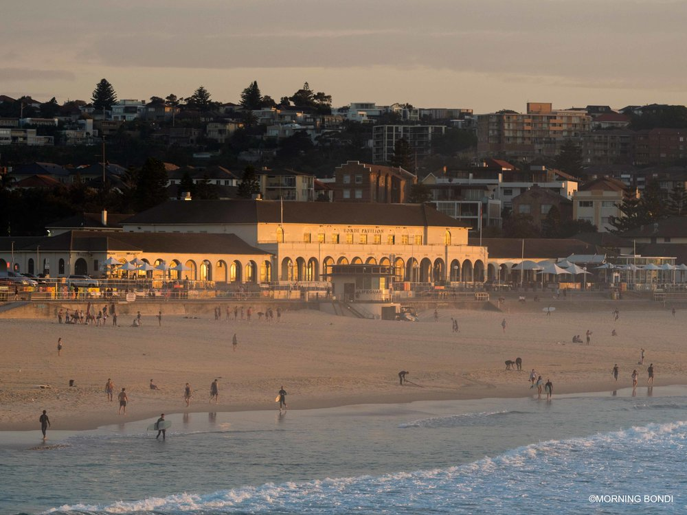 The iconic Bondi Pavilion taking it all-in