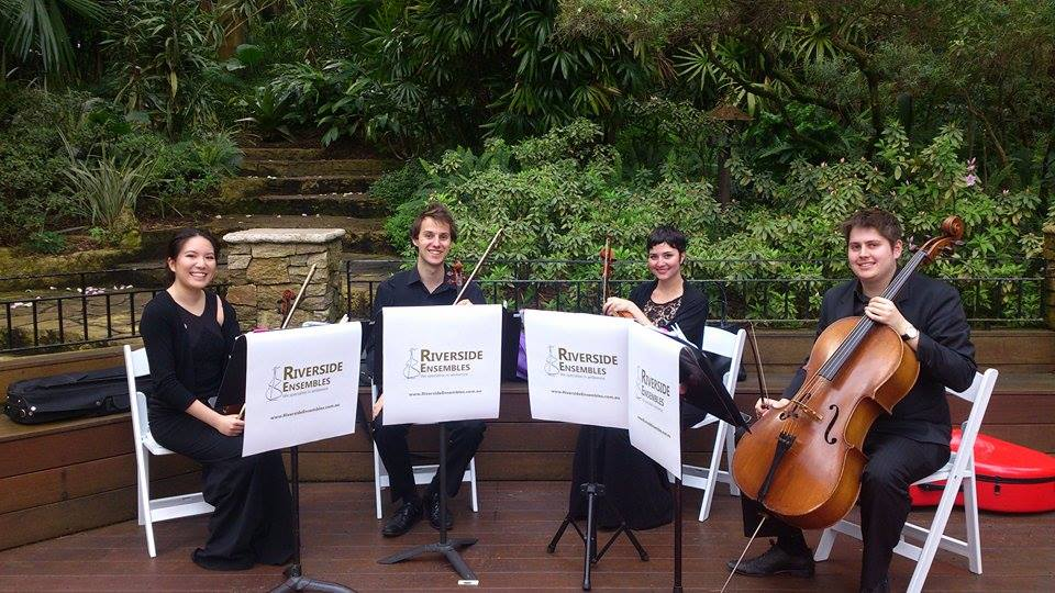 Hire String Quartet Perth www.RiversideEnsembles.com.au Wedding