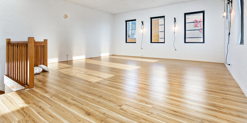 Jessica Dewar Yoga Studio Space