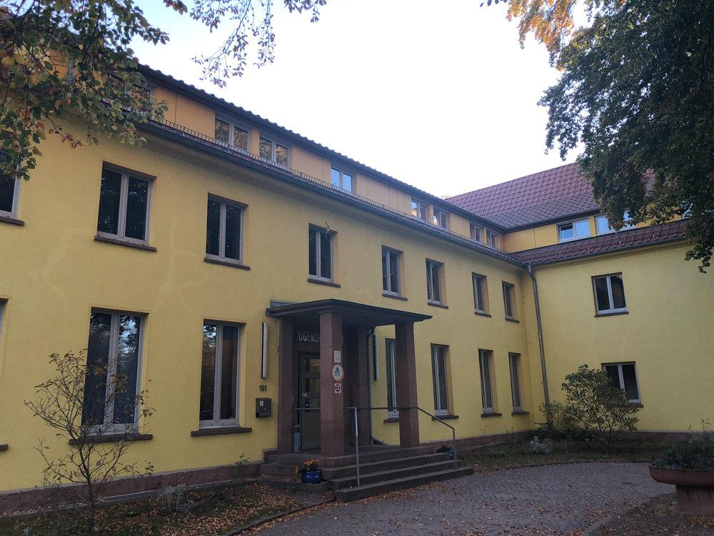 Hostel i Dessau.