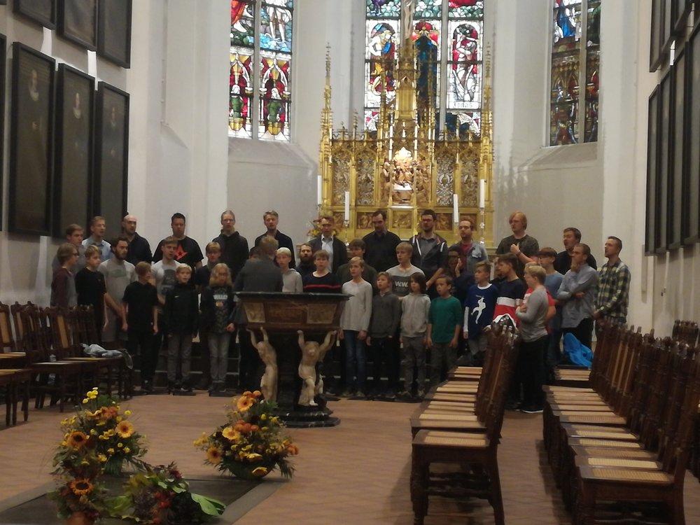 Prøve i Thomaskirche