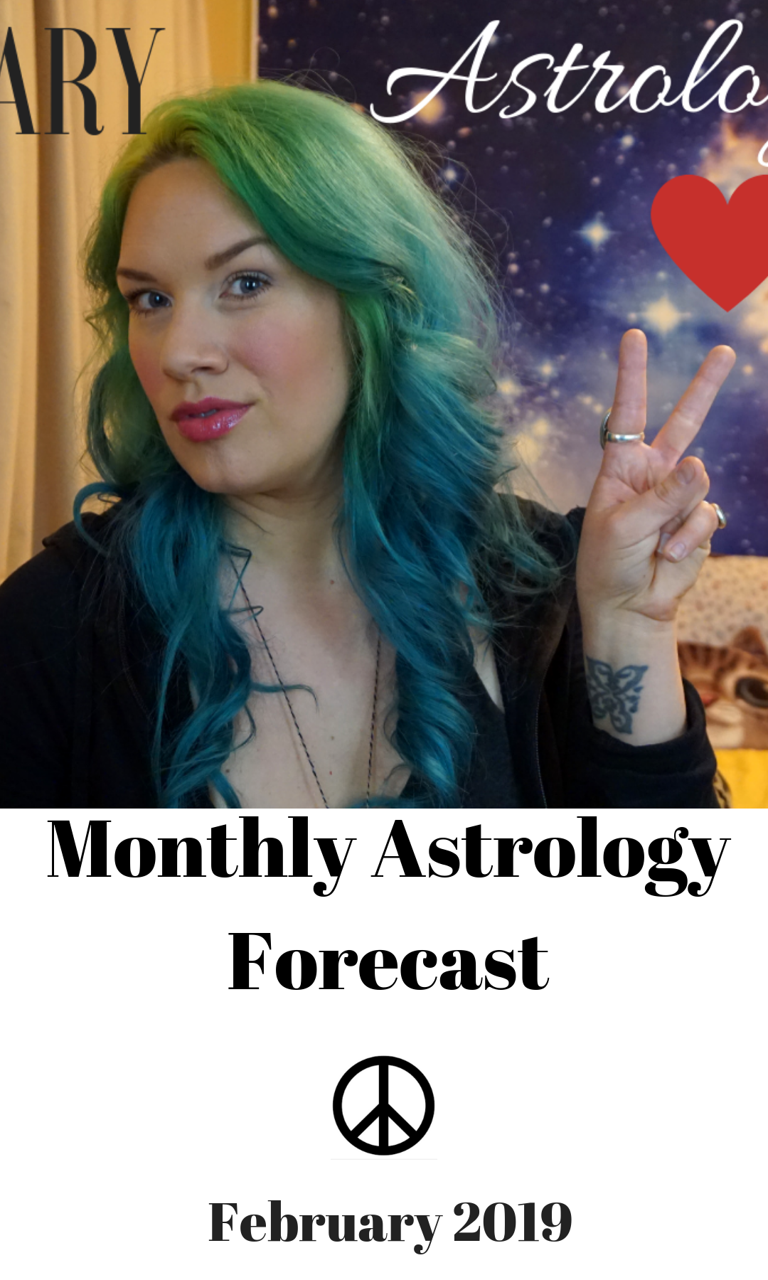 February 2019 Astrology Forecast — pinkiethebear Intuitive Astrology