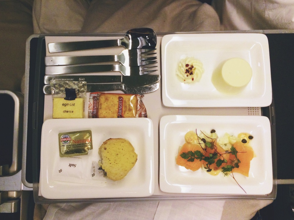 what plane food?