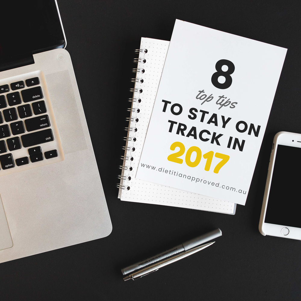 Top tips to Stay on Track this New Year