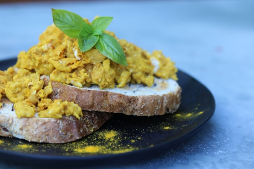 Turmeric Scrambled eggs