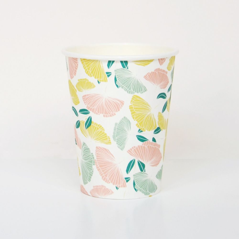8 FLOWER CUPS