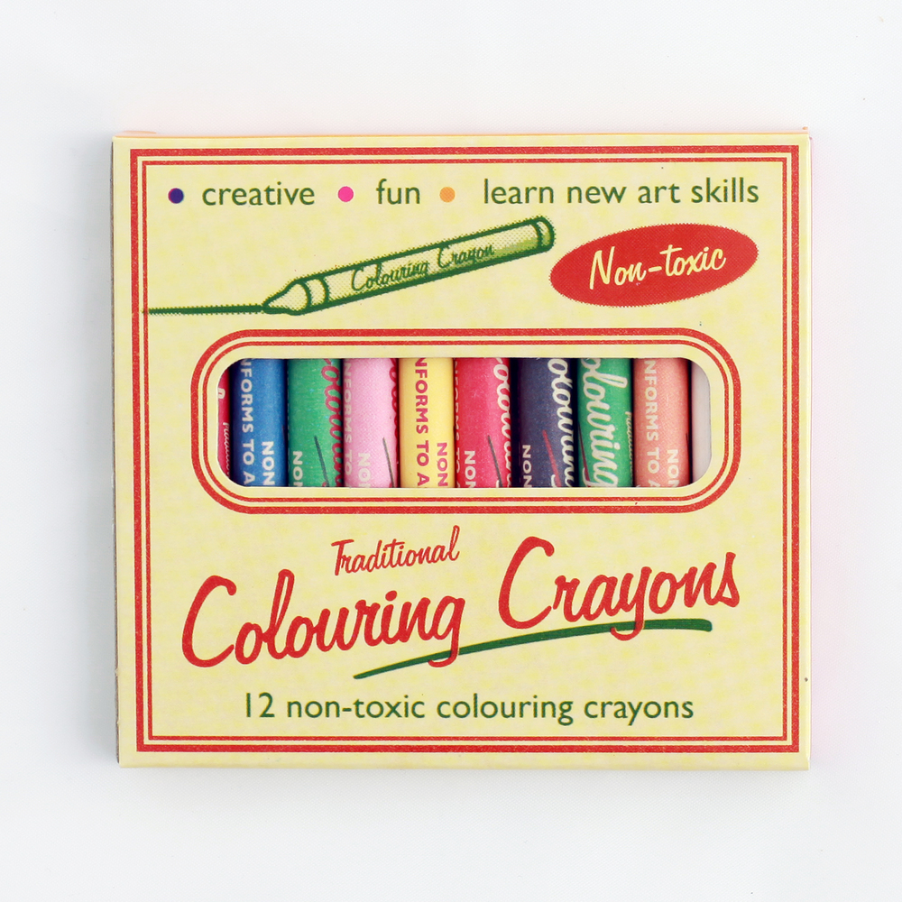 TRADITIONAL COLOURING CRAYONS