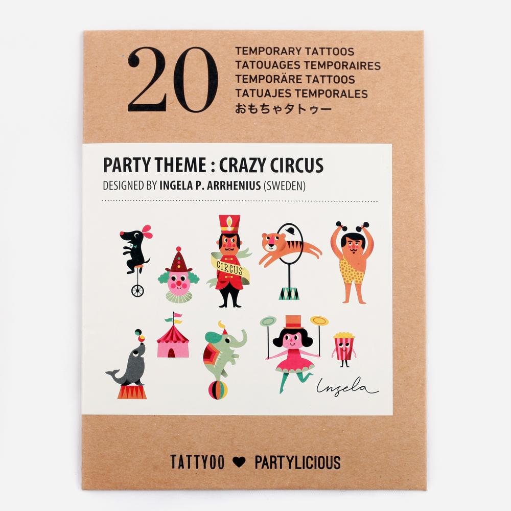 20 CIRCUS TATTOOS