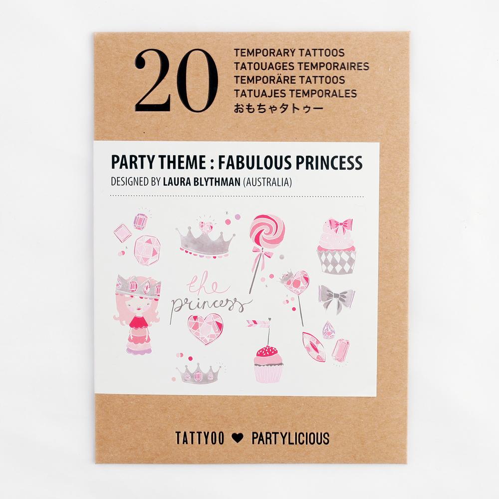 20 TATTYOO PRINCESS TATTOOS