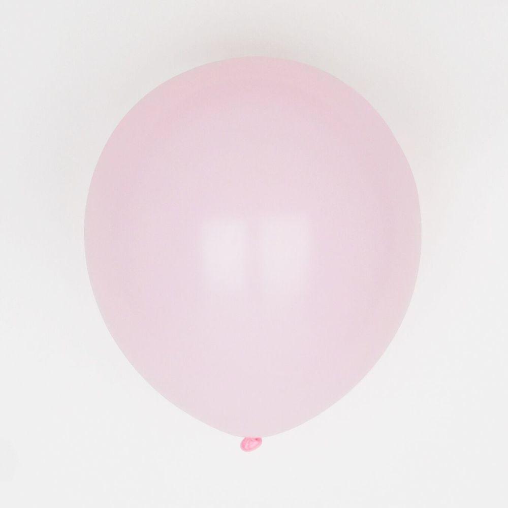 10 pink balloons