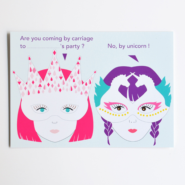 10 unicorn invitations